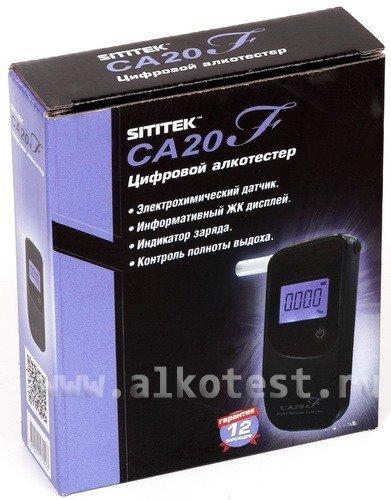 Небольшие размеры алкотестера SITITEK CA20F сделают его Вашим постоянным спутником